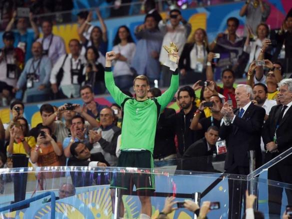 Manual Neue is the best goalkeeper, team Germany